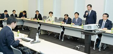 米村東大准教授が党プロジェクトチームで講演