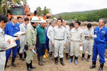 北海道台風被害復旧へ