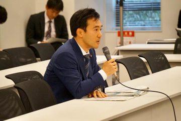 党税制調査会にて説明