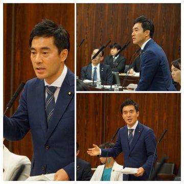 経済産業委員会で中小企業対策等を訴え議論