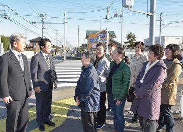 交差点の信号機改善(埼玉県久喜市)
