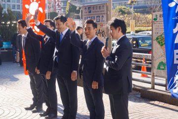 青年委員会街頭