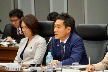 中国全人代の代表をお迎えし、日中議員会議を開催、基調発言をいたしました。