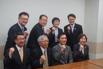 20日、宮城県から新座に直行、朝霞総支部(朝霞、志木、新座、和光)の議員会に参加しました