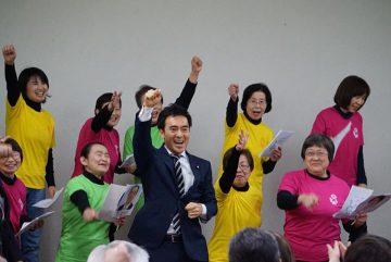 28日、入間で、3日の土曜日は桶川にて党員会、朝の駅での挨拶も。