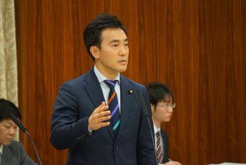22日、ODA特別委員会の理事としてODA予算について、河野外務大臣に質問しました。