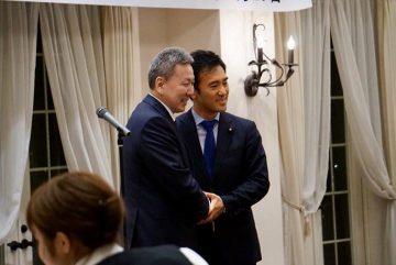 26日、モンゴルの前外務大臣であるロブサンワンダン・ボルド議員が来日、越谷を訪問。