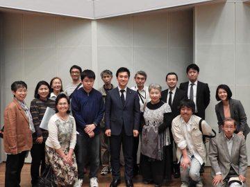 三芳町党員会、勢いがすごかったです。