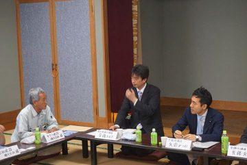 和光市の建設協力会の皆様と懇談会、建設業の抱える問題について真剣討議しました。