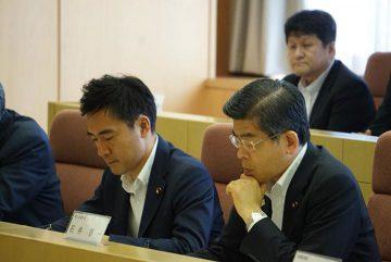 石井国土交通大臣と埼玉県内(主に東部)が抱える課題について、各首長や団体の皆様らと協議しました。
