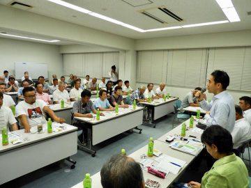 吉川にて、第3回目の農政懇談会、宮代では党員会、そして川越では意見交換会