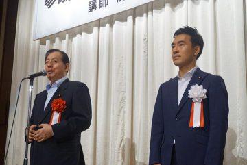 埼玉県で政経懇話会、太田前国交大臣をお迎えして。
