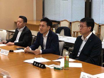 埼玉県にて、各種団体の皆さまから政策提言をいただきました。