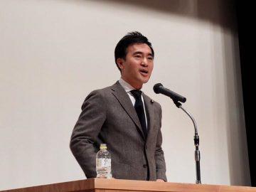 飯能にて、矢倉かつお国政報告会!