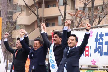埼玉県議3期目に挑戦、「安藤ともき」候補(新座市)の応援に!