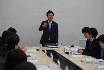 障がい児支援充実に全力/矢倉氏が保護者らと要望懇談会