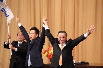 石渡ゆたか県議による、県政報告会に参加!