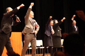 本庄にて、矢倉かつお国政報告会!