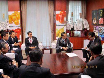 豚コレラ対策を農林水産大臣に要望