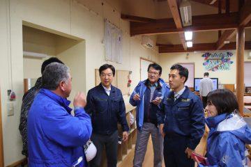 台風被災施設の要望の一つが実現。