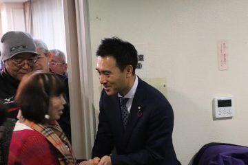 坂戸にて党員会