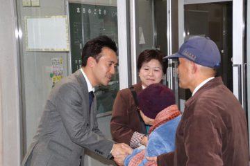 熊谷にて党員会