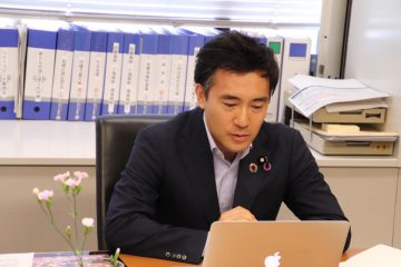 日本政治法律学会が主催するオンライン会合に参加