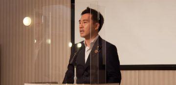 7月29日夜、広島にて平和創出大会と題し、核廃絶に向けた誓いの会合を開催。