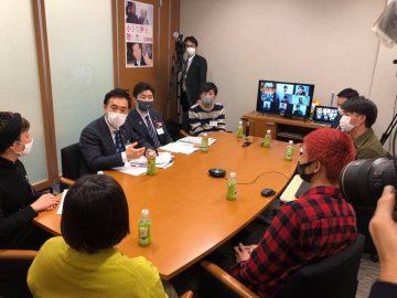 業種別にユーストークミーティングを開催。