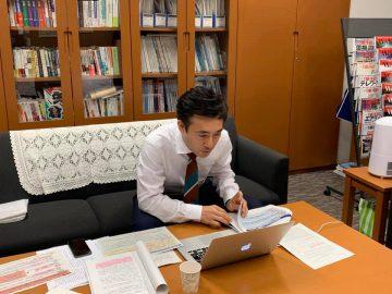 先週木曜日、埼玉県の大野知事とオンラインで議論。